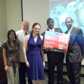 Careen Hutchinson; Gregory H. Stanton, J.D., Ph.D.; Alida Liberman (Second Prize Winner of a Magnovox Blu-Ray Player); Abubakr Elnoor; Jason J. Campbell, Ph.D.