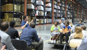 Students Toured The City Furniture ...