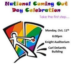 National Coming Out Day at NSU