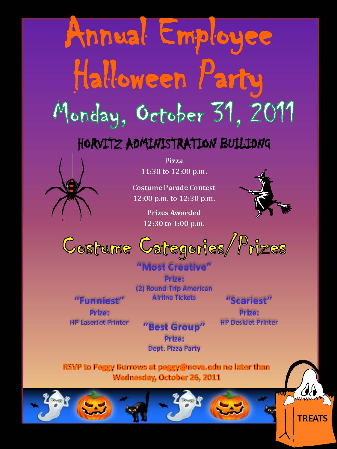 It's time for the Annual Employee Halloween Party, Oct. 31! | NSU ...