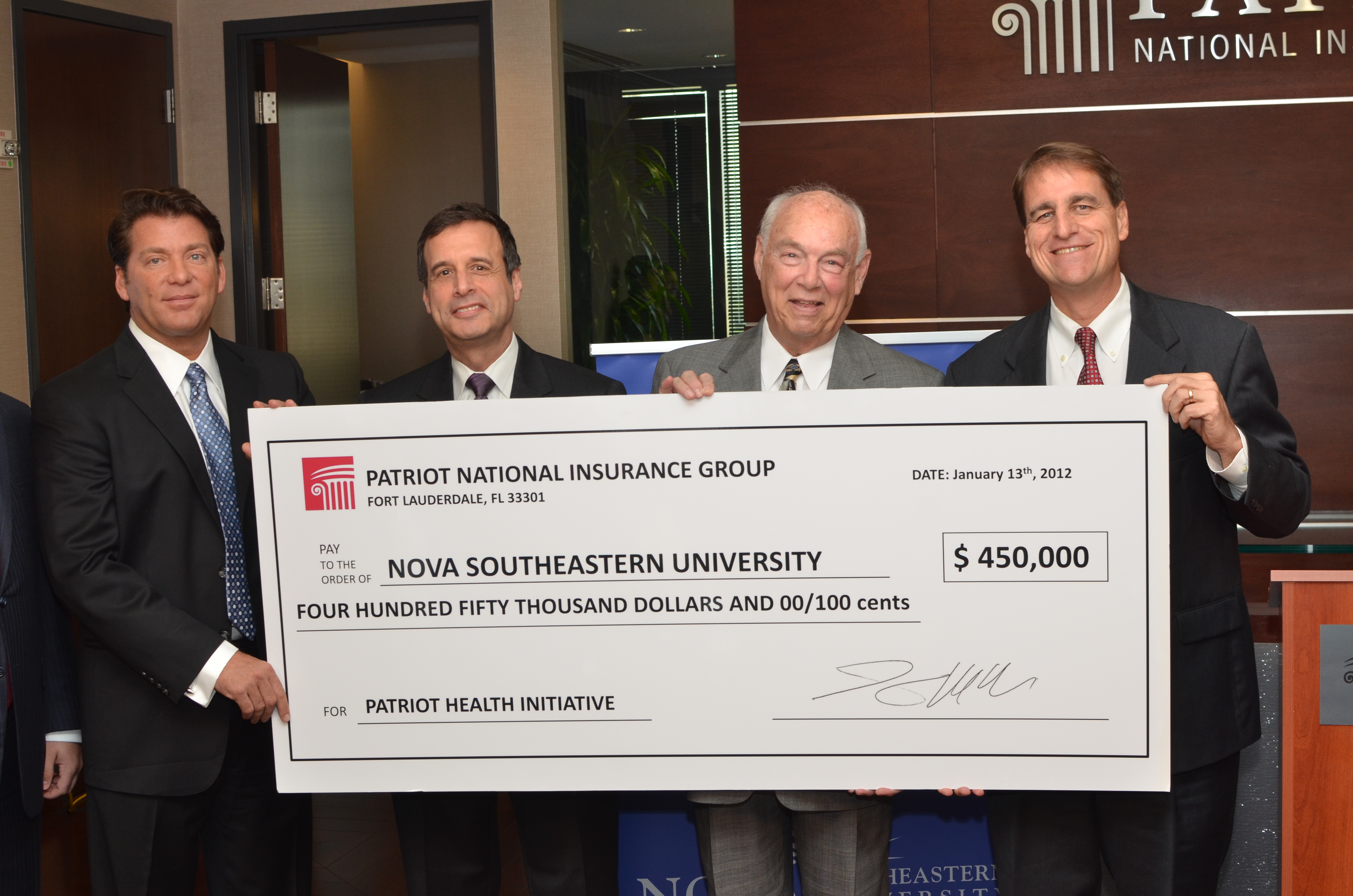 NSU Dental College receives Major Gift from Patriot ...