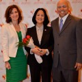 (L to R) Angela Ward, Exec. Director, Florida Diversity Council; Jackie Travisano, NSU Exec. Vice President & COO; Dennis Kennedy, Founder & CEO, National Diversity Council.