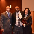 Dennis Kennedy, Michael Daniels, Interim Director, Orlando Student Educational Center and Jackie Travisano.
