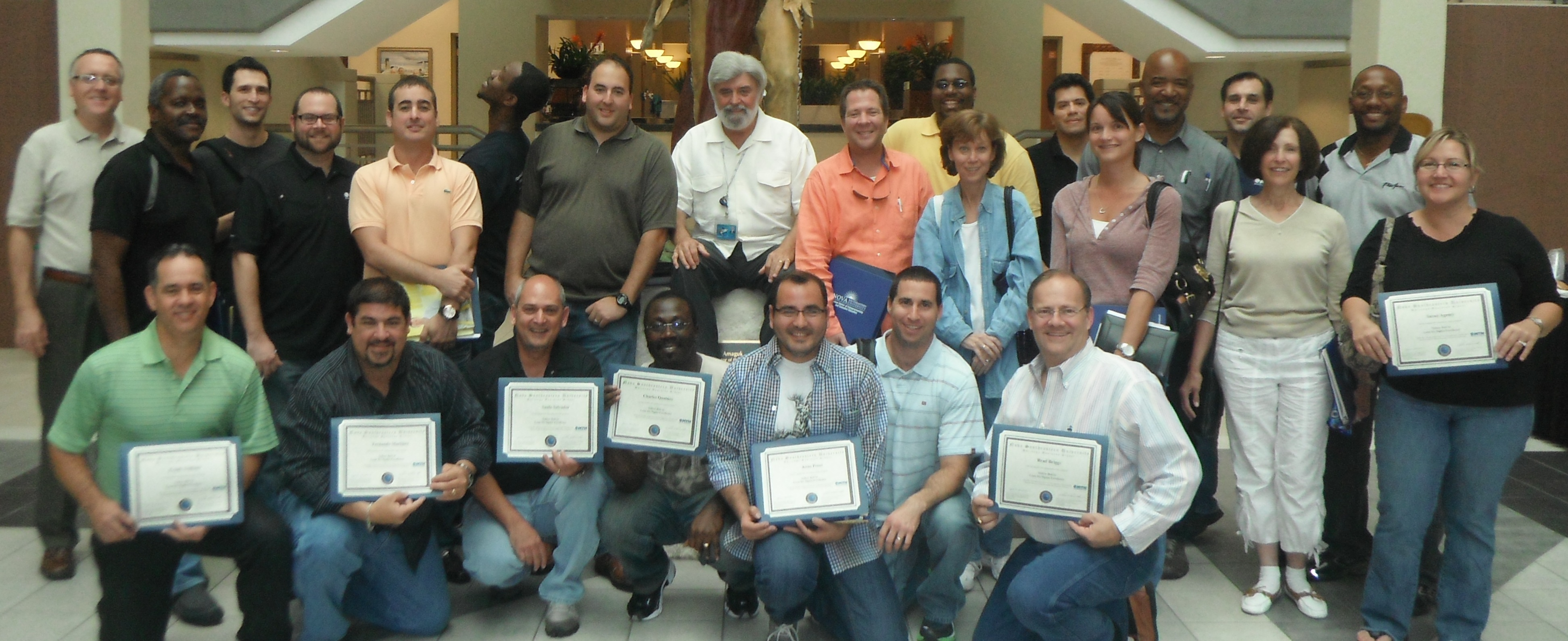 Hudson center of executive education graduates six sigma yellow a miramar based global satellite communication provider recently attended the two day lean six sigma yellow belt certification training course at the xflitez Images
