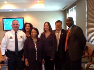 BSO Deputy Sheriff Zachary Scott; Tammy Kushner, Psy.D.; Marguerite Bryan, Ph.D.; Kelly Armstrong; Gabriel Suciu, Ph.D; Leslie Taylor, Ph.D.