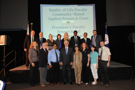 Faculty Members of the Grant Reviewer Panels for the 13th annual President's Faculty Research and Development Grants awards.