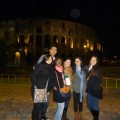 NSU students in Rome