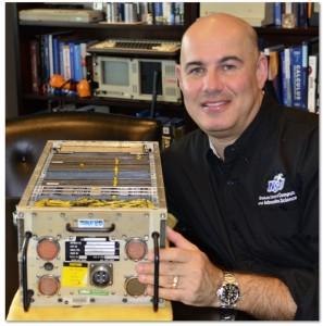 Eric S. Ackerman, Ph.D., interim dean of the Graduate School of Computer and Information Sciences