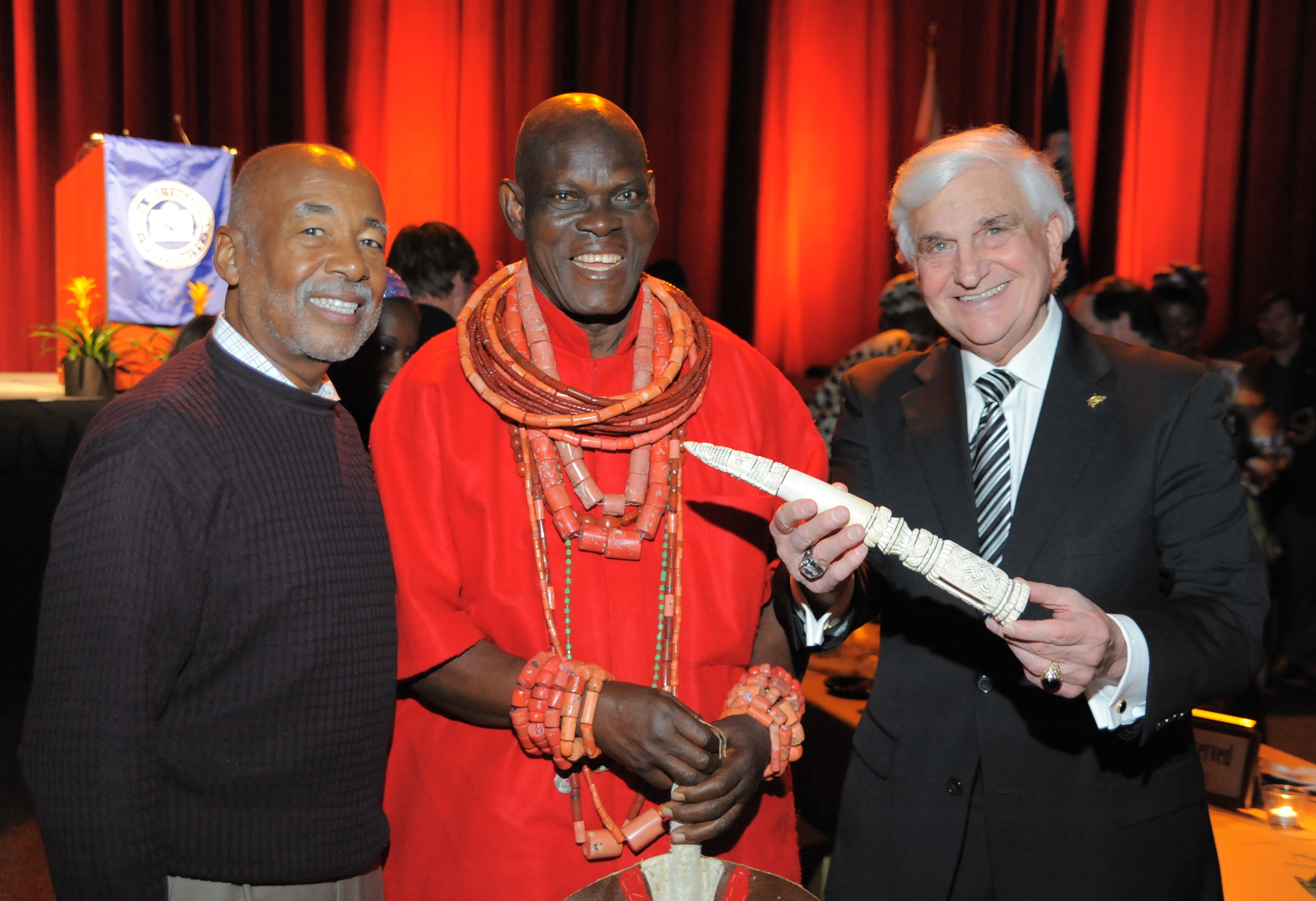Opening Of 10th Annual African Presence Art Exhibition