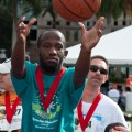 Participants of all athletic levels got to play sports and carnival games after the 5k portion of the 2012 Sallarulo's Race for Champions benefitting Special Olympics Broward County.