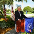 President George L. Hanbury II, Ph.D. Provides Keynote Remarks to Hundreds Who Gathered for the Unveiling