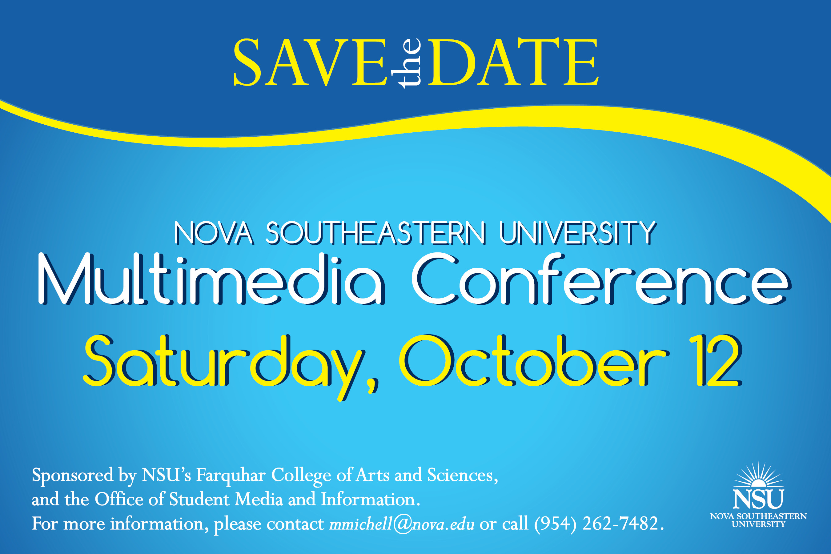 conference save the date template nsu multimedia conference oct 12 nsu newsroom