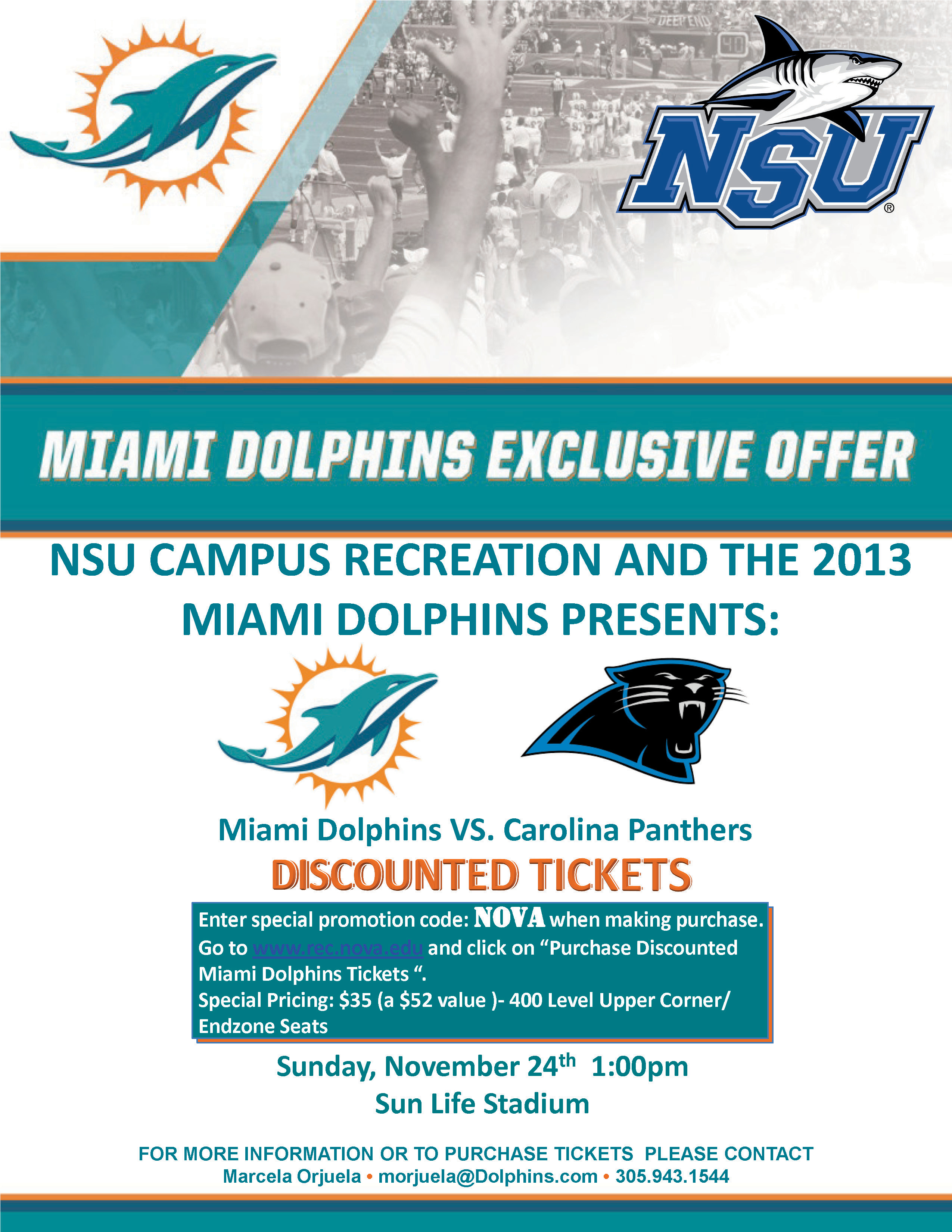 exclusive offer for the nsu community  discounted miami
