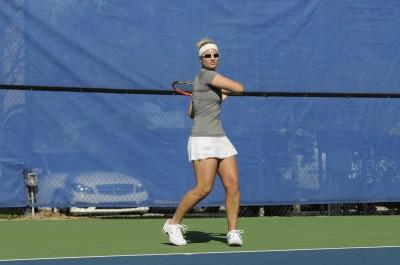 2013 NSU Women's Tennis Photo Day Action