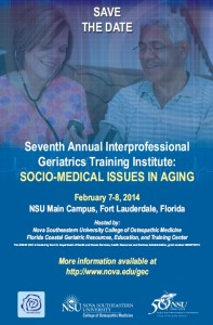 Socio-Medical Issues in Aging