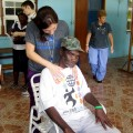 Providing health care services and therapy in Jamaica.
