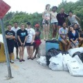 Beach Clean up in Key West