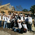 Working with Habitat for Humanity.