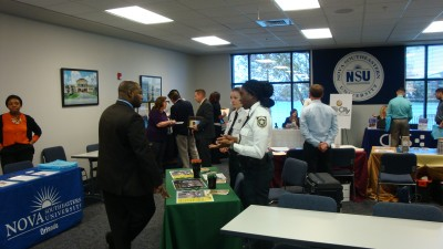 NSU Orlando Campus hosted the Central Florida VetReady Resource and Career Fair