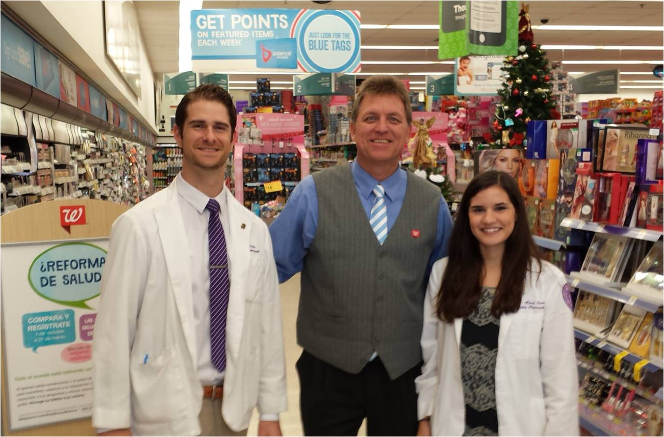 nsu college of pharmacy students develop community program to college of pharmacy students join a walgreens employee as part of project vaccination
