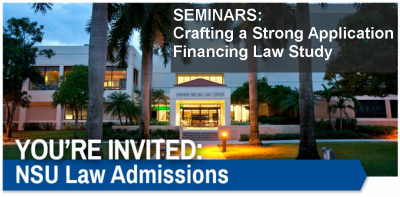 You're Invited Banner -Law Seminars
