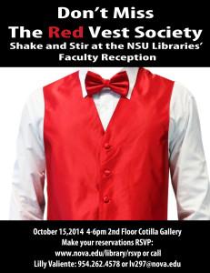 2014 Red Vest Society Invite
