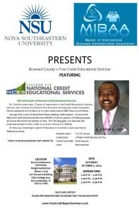 MIBAA-Broward County Free Credit Educational Seminar