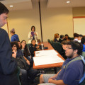 Yair Levy assisted high school students understand the importance of cyber security