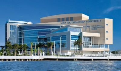 Rendering of NSU Guy Harvey Oceanographic Center