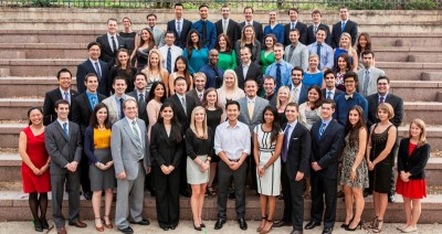 The 2014 U.S. American Dental Association/ DENTSPLY Student Clinicians.