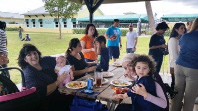"NSU College of Pharmacy recently hosted an ""End of the Year Thank You"" picnic for its Palm Beach students, faculty, staff, alumni and friends."