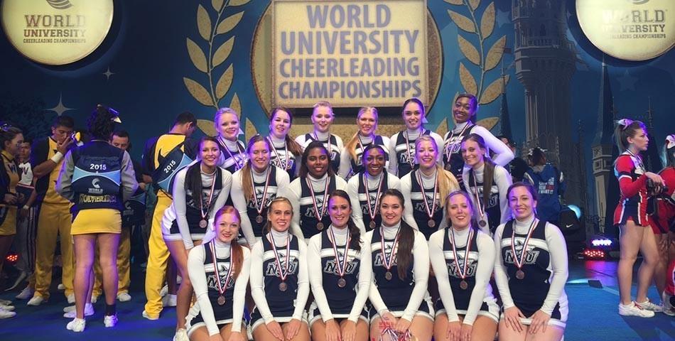 Cheerleading Takes Third At World University Cheerleading
