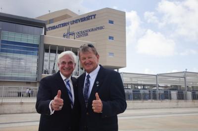 Dr. Hanbury and Dr. Guy Harvey
