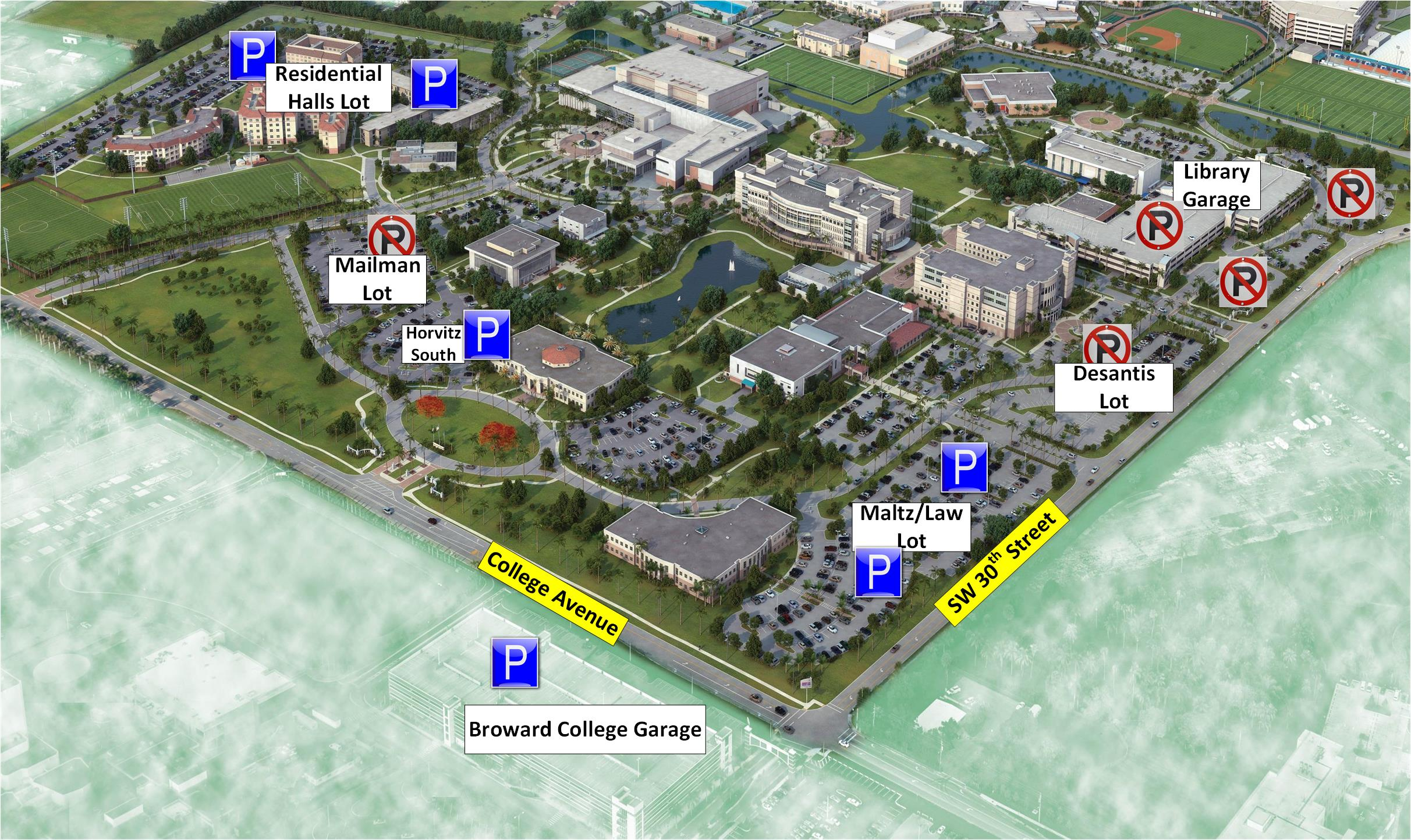 Broward College Central Campus Map Nuclear Map