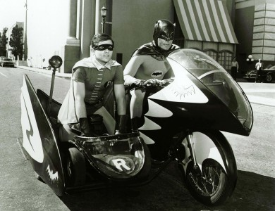Batman and Robin, 1966. Image provided by 20th Century Fox / The Kobal Collection at Art Resource, New York