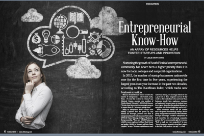 Tom Tworoger, Ph.D., Quoted in Regional Magazine about Entrepreneurship