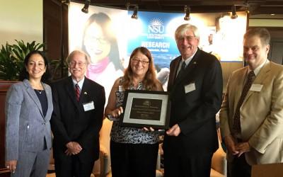 Provost's Award 2015 Klimas