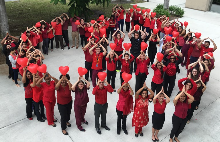 NSU Recognizes National Wear Red Day 2016