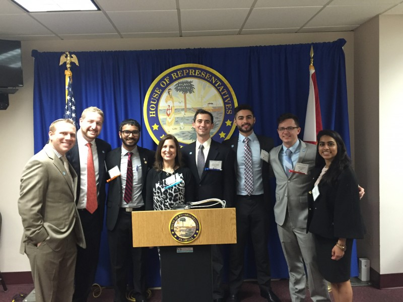 Representatives from NSU's College of Dental Medicine attend Dentist Day in Tallahassee
