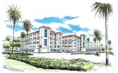 NOVA Hospital_Exterior Phase 2 Rendering_5 story