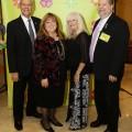 Larry Maurer (immediate past president), Lorraine Hoffman, VP of COF, Ronnie Oller (COF Program Chair and board member, Michael Greenberg, FY 2016-17 COF President.