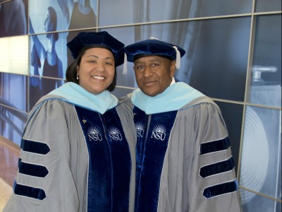Father/Daughter Duo Awarded Ed.D. Degrees from Fischler College of Education Just in Time for Father's Day