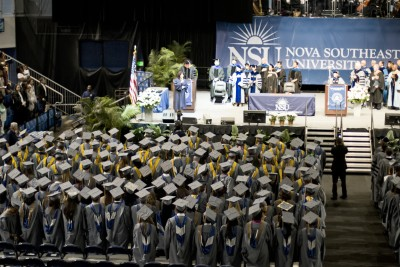 Nova Southeastern University Commencement Brings Heartfelt Stories  to Kick-off Father's Day Weekend