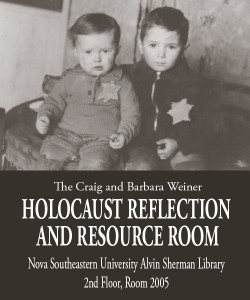 The Craig and Barbara Weiner Holocaust Reflection and Resource Room