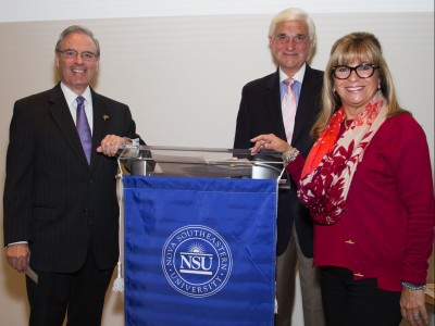 Susie and Alan B. Levan Create Endowed Scholarship for NSU's Huizenga College of Business and Entrepreneurship