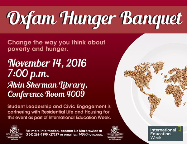 hunger banquet The latest tweets from oxfam hunger banquet (@hb_planning) when you host  an oxfam hunger banquet®, you change the way people think about poverty.