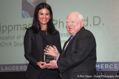 Greater Fort Lauderdale Chamber Honors NSU's Fred Lippman, Ed.D.