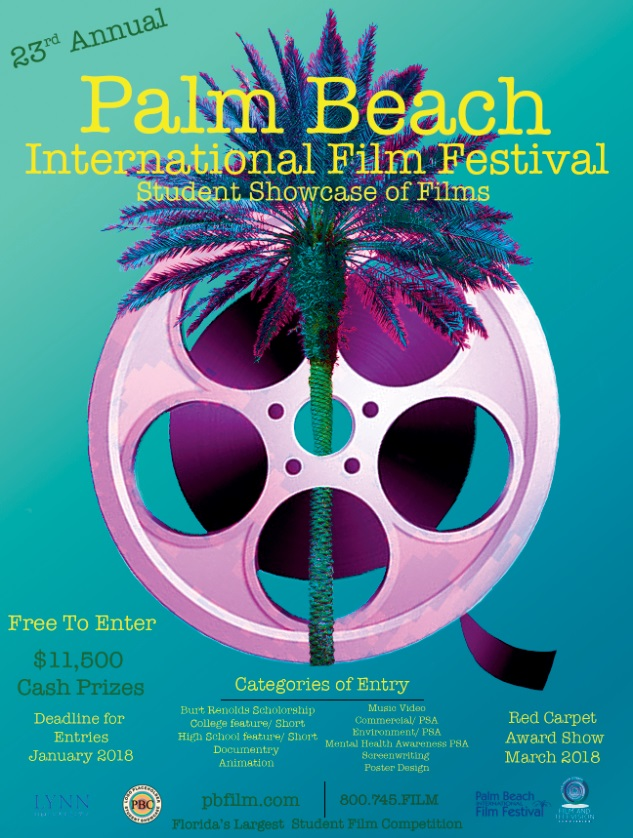 23rd Annual Palm Beach International Film Festival Poster Competition 1s