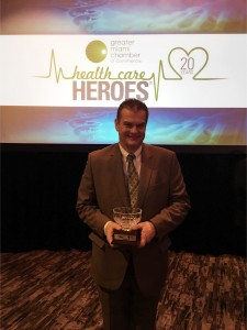 Dr. Temple GMCC Health Care Hero 2017