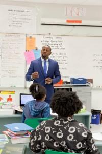 Teacher in Classroom 2